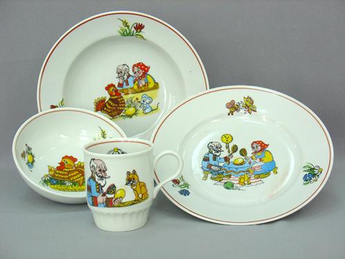 Набор детской посуды курочка ряба